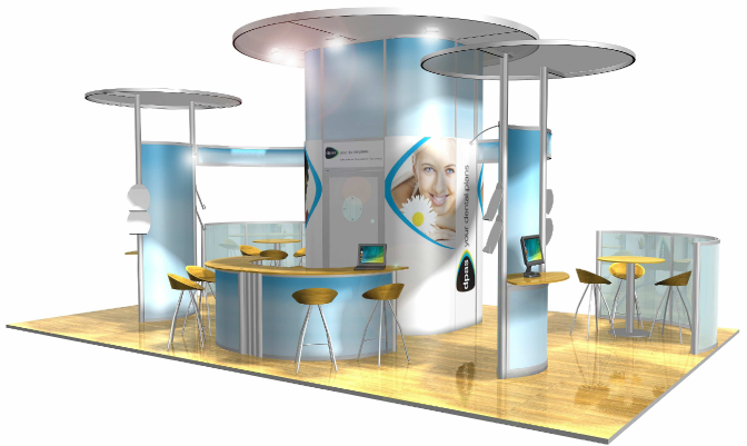 Portable Modular Exhibition Stands : Perfect marketing and design specialists